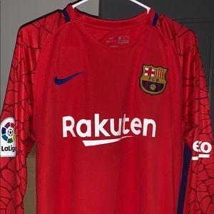 2017 Ousmane Dembélé Barcelona kit